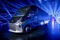 The Xingtu electric truck developed by Baidu's DeepWay. Photo: Handout