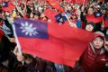 Supporters of the Kuomintang's presidential candidate at an election rally in Taipei on January 9, 2020. The party votes in a new chairman on Saturday. Photo: Reuters