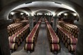 Wine casks stored in a wine cellar in Margaux, near Bordeaux. Prices of fine Bordeaux wines have jumped in the past year. Photo: AFP/Getty Images