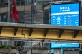 A general stock exchange picture in Central on 3 March 2020. Photo: Martin Chan.