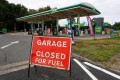 The Petrol Retailers Association, which represents almost 5,500 independent outlets, said about two-thirds of its members were reporting that they had sold out their fuel. Photo: Bloomberg