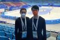 Hong Kong figure skating champions Joanna So (left) and Lincoln Yuen Lap-kan at the ISU CS Asian Open Trophy 2021 event in Beijing. Photo: Hong Kong Skating Union