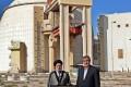 Iran's President Ebrahim Raisi and chief of the Atomic Energy Organisation of Iran Mohammad Eslami, visit Iran's Bushehr Nuclear Power Plant. Photo: AFP