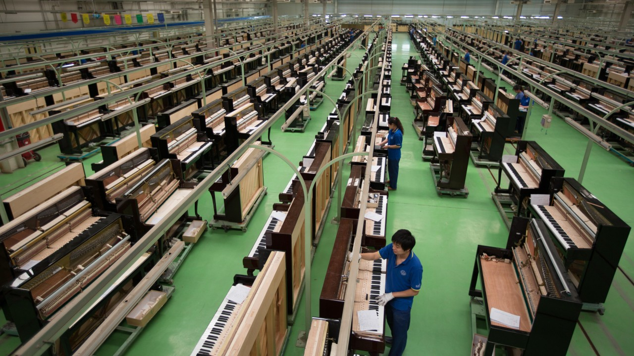 China's piano-makers are struggling to hit the top notes