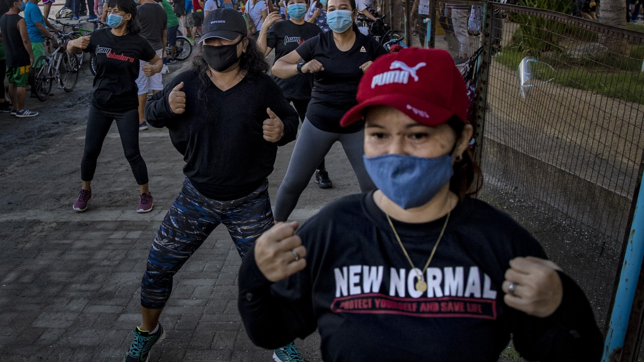Asia is starting to get out and exercise despite pandemic