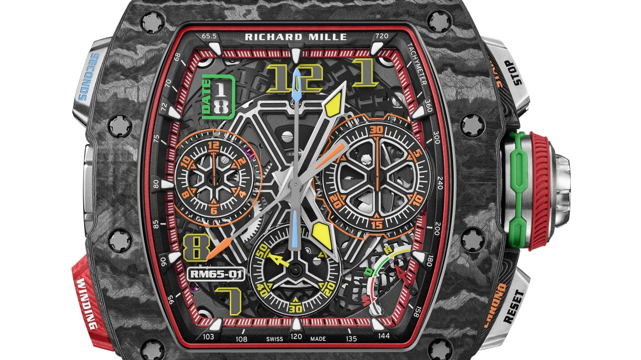 STYLE Edit: Introducing Richard Mille's superfast new RM65-01 Automatic Split Seconds Chronograph