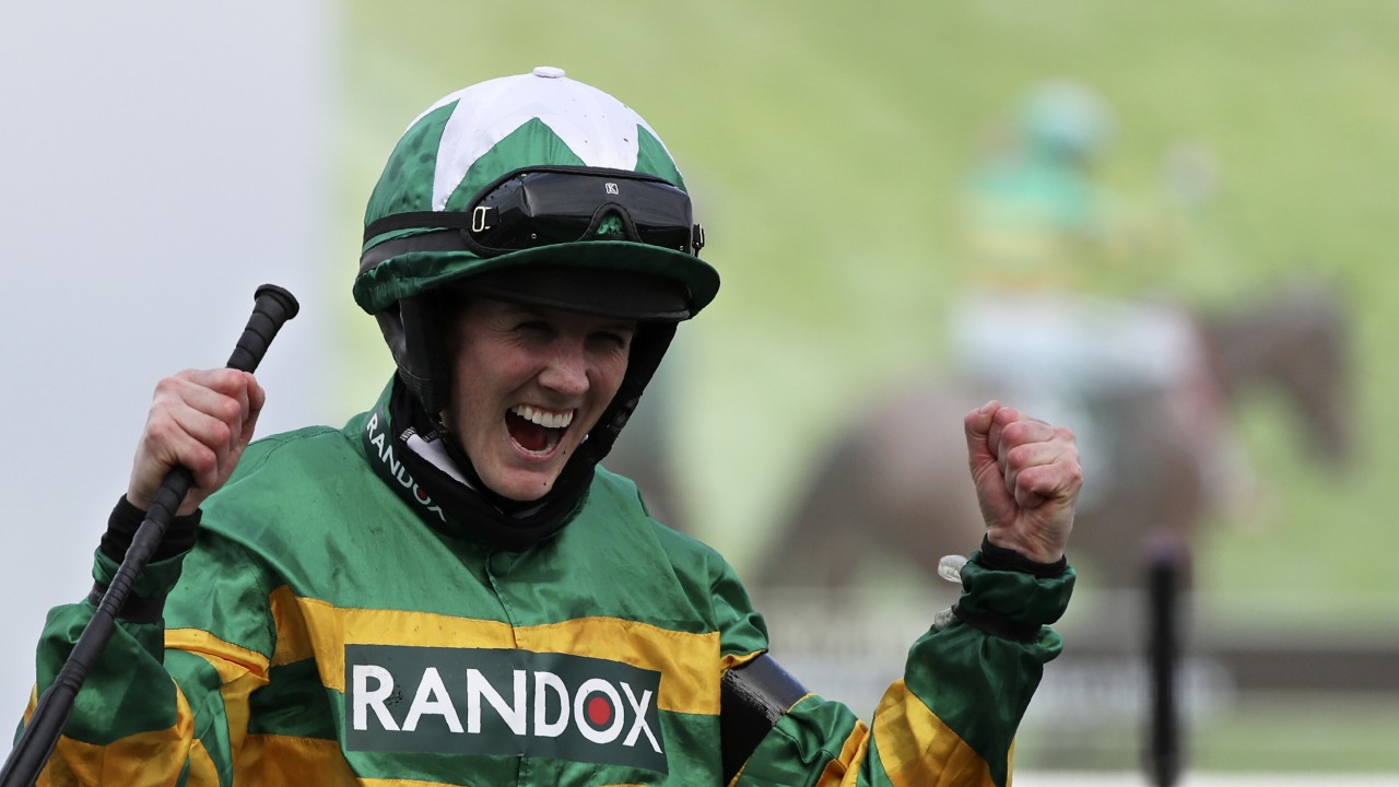 Rachael Blackmore becomes first woman to win prestigious Grand National horse race