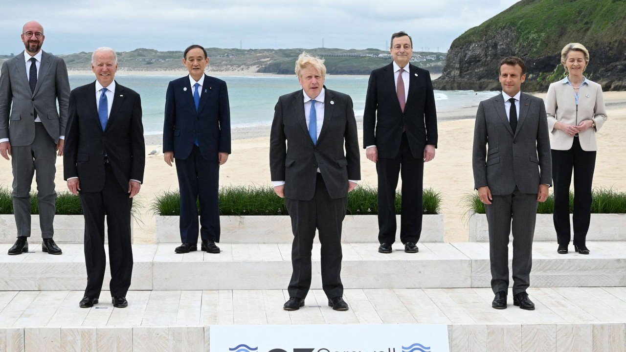 G7 leaders turn attention to China as summit focus shifts to foreign policy