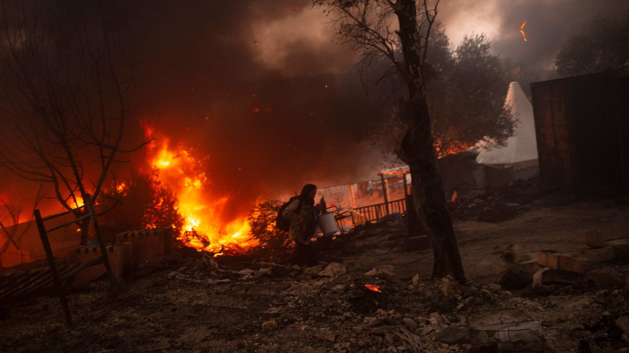 Afghan arsonists sentenced to 10 years each for burning down Greek migrant camp