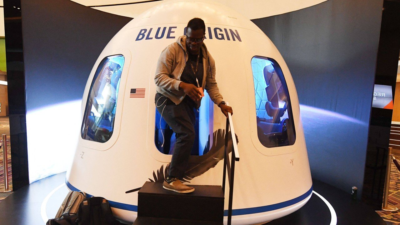 Unnamed bidder pays US$28 million to join Jeff Bezos on Blue Origin space flight next month