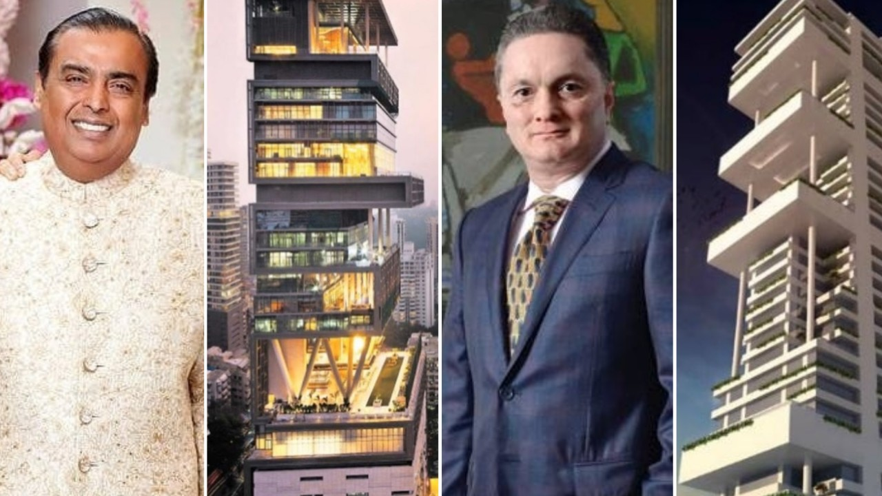 Crazy rich Indian mansions: from Mukesh Ambani's Antilia to Shah Rukh Khan's Mannat and Gautam Singhania's JK House, take a peek inside 5 of the country's most OTT luxury homes