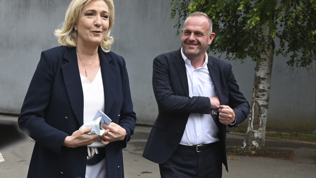 Marine Le Pen's far right party falls short in French regional elections, exit polls indicate