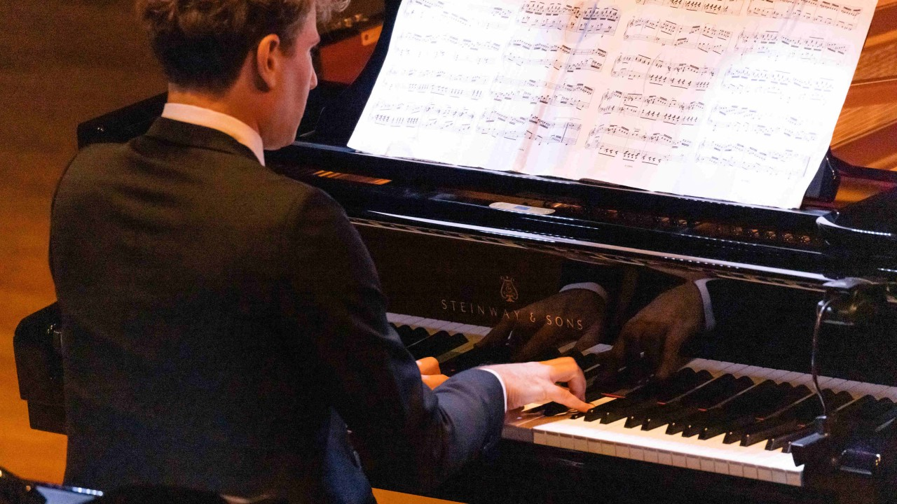 Recital of Scarlatti and John Cage piano sonatas by David Greilsammer throws up intriguing questions