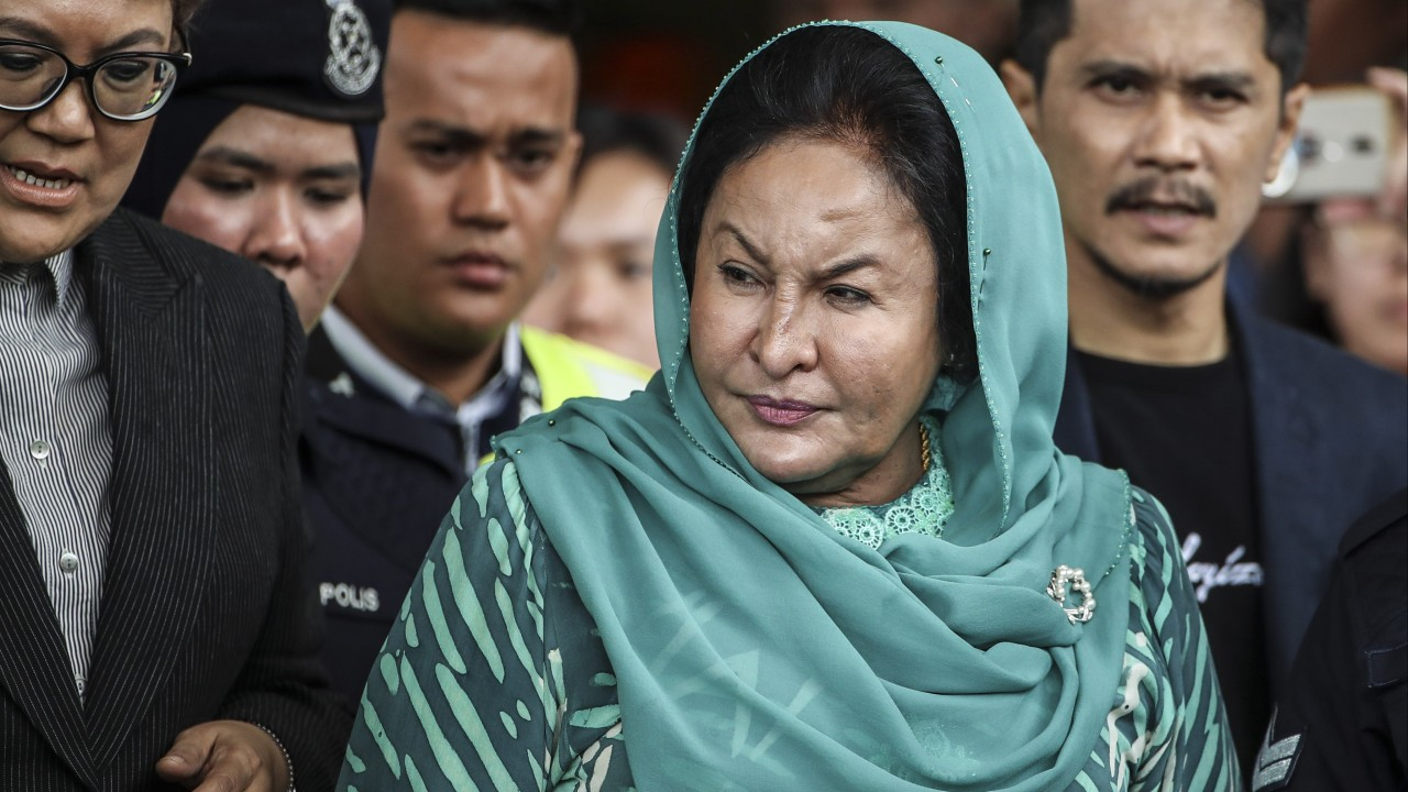 Wife of former Malaysian prime minister Najib Razak's spectacular shopping sprees and how a writer set off a media storm by blogging about one