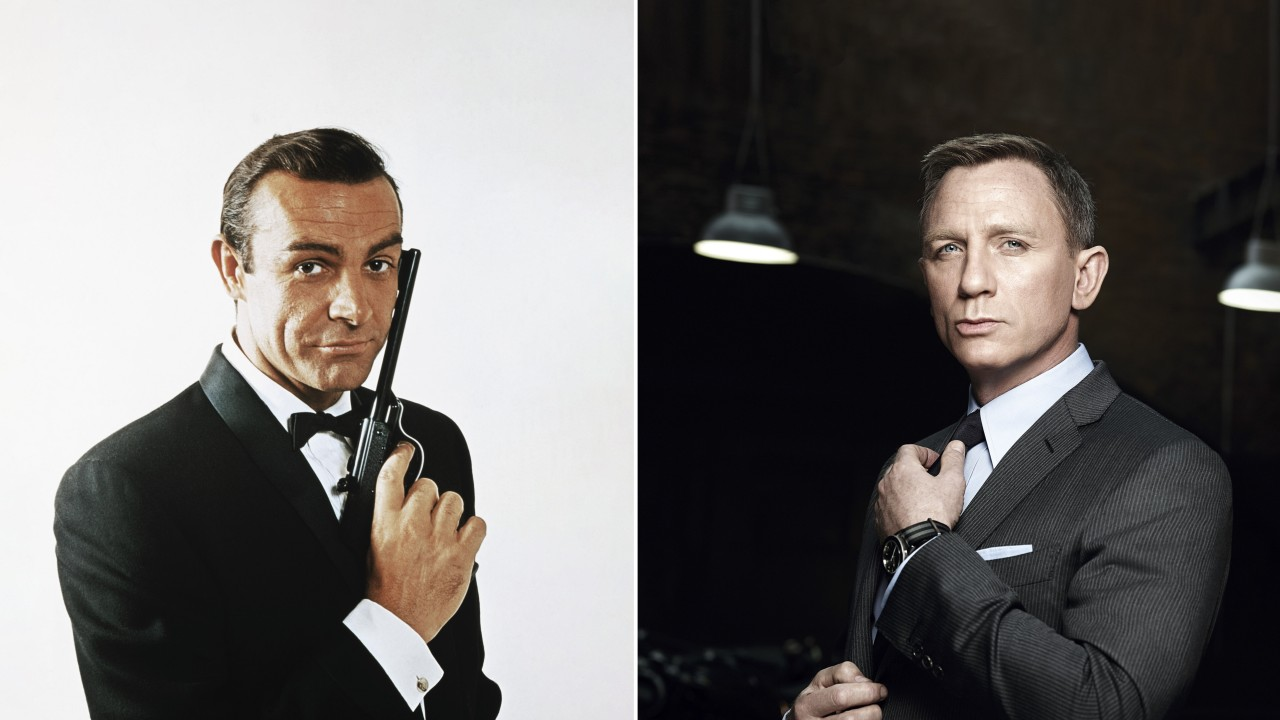 From Sean Connery to Daniel Craig, how James Bond went from sexist womaniser to pop culture icon