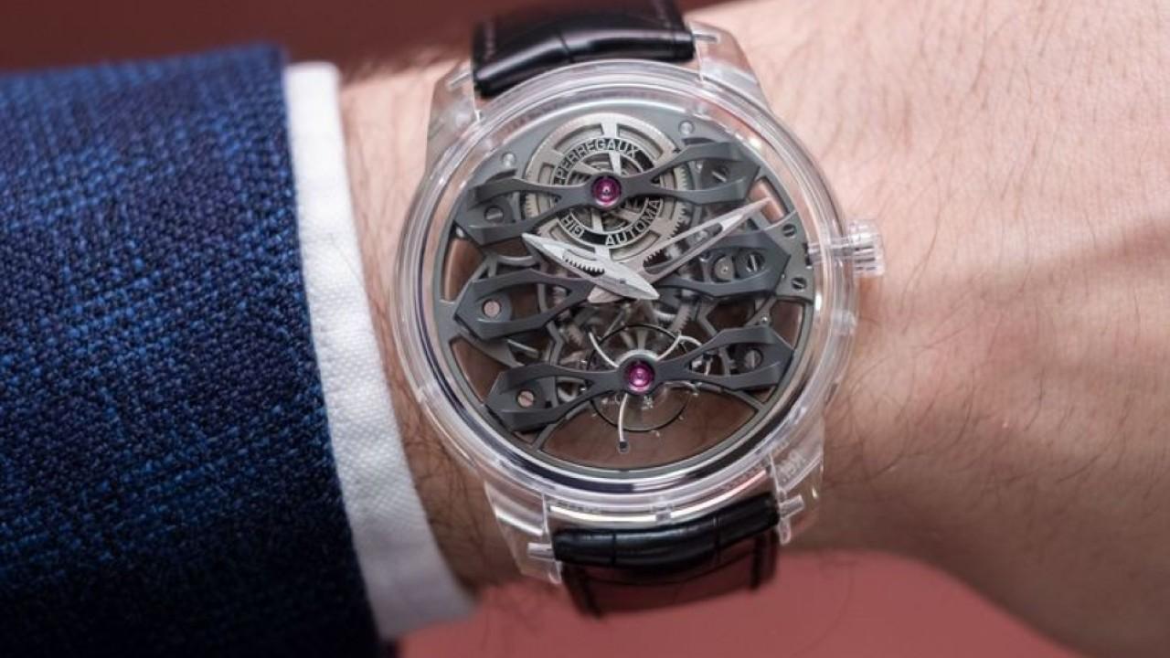 What makes Girard-Perregaux's Quasar the 'supercar' of timepieces?