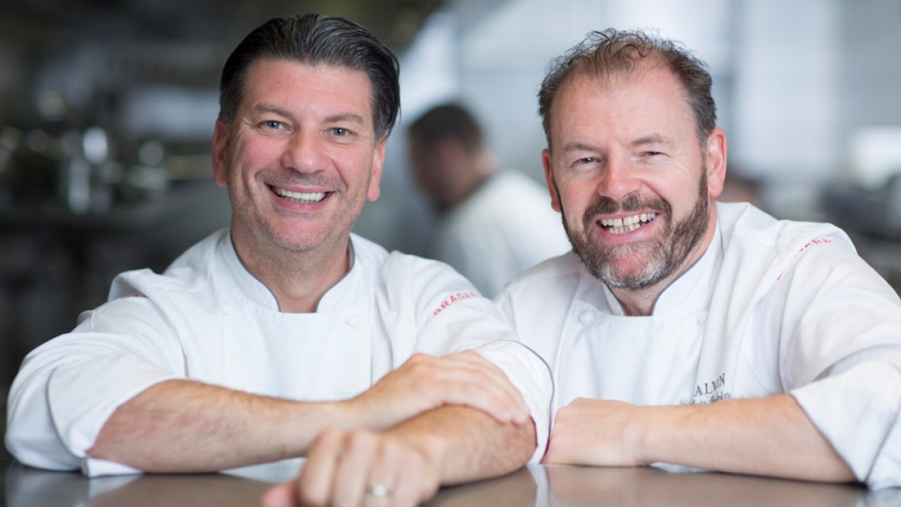 How chefs Chris and Jeff Galvin went from washing dishes to become the only Michelin-starred brothers