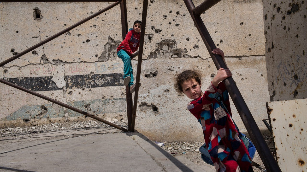 From Syria to Iraq, Save the Children centenary photo show reveals indomitable spirit of kids in war zones