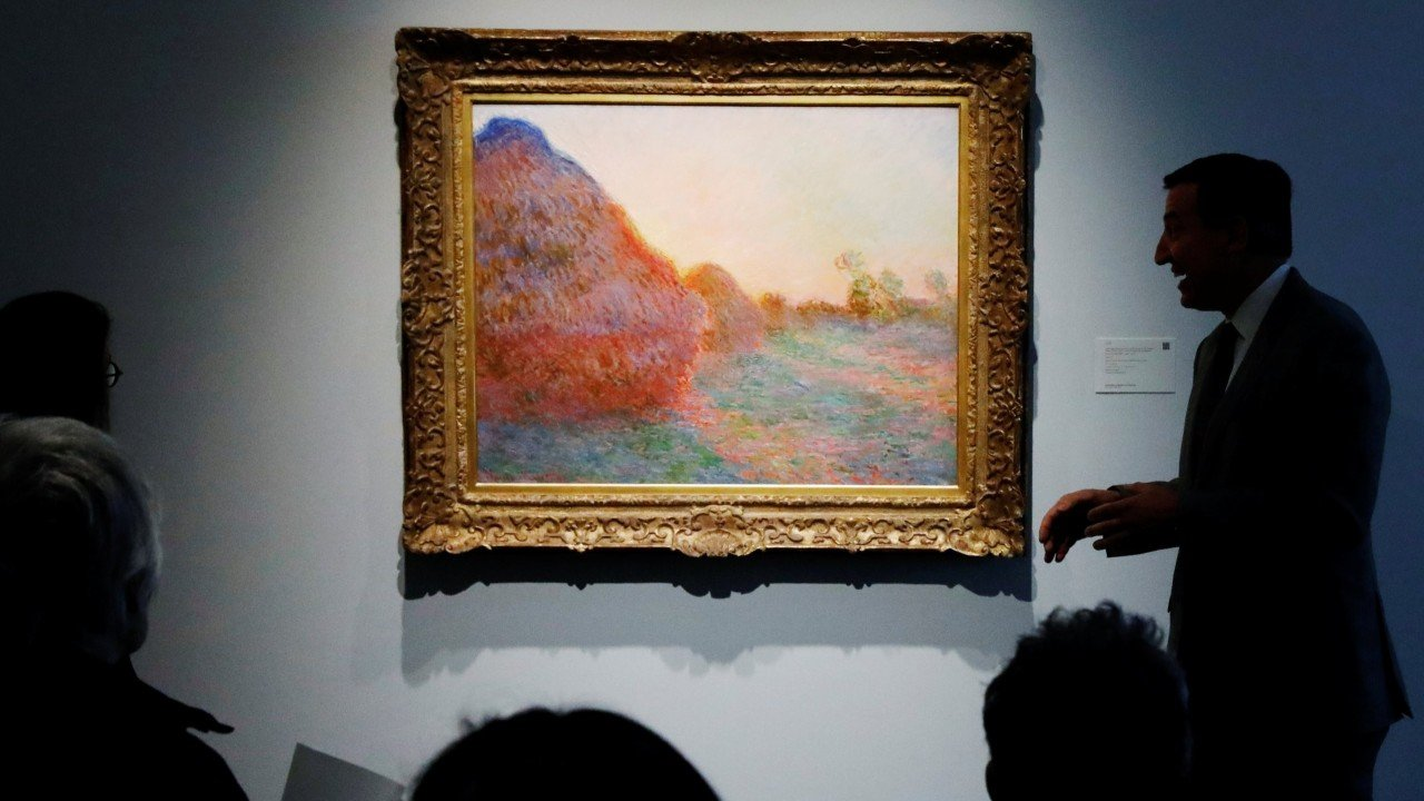 Monet oil painting sells for a record US$110.7 million at Sotheby's auction