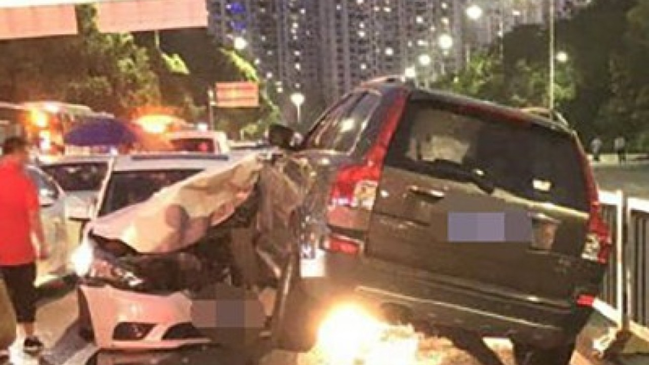 Chinese police investigate driver's 'sudden attack' at time of road accident that claimed three lives