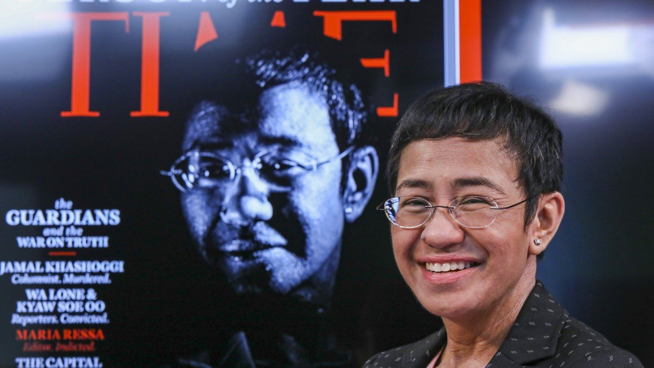 Maria Ressa, Duterte critic and guardian of the truth, says journalists are under attack
