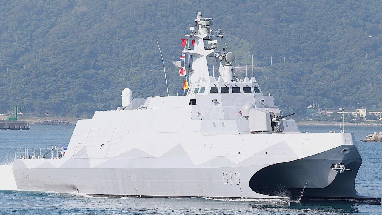 Taiwan begins mass production of home-grown missile corvettes, minelayers