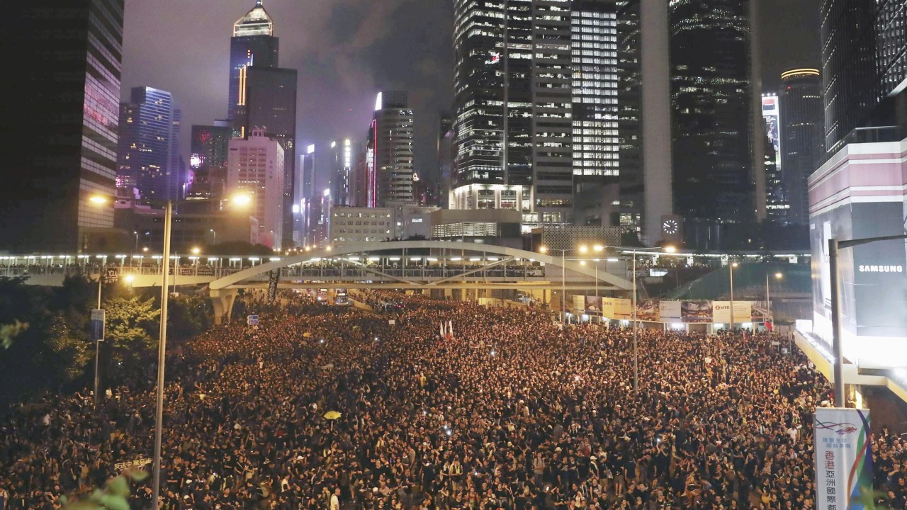 Well done Hongkongers in fighting the good fight of democracy