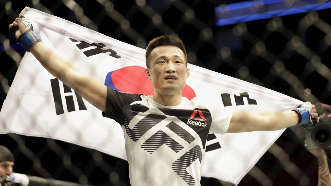 UFC's 'Korean Zombie' secures TKO in 58 seconds against Renato Moicano at Fight Night 154