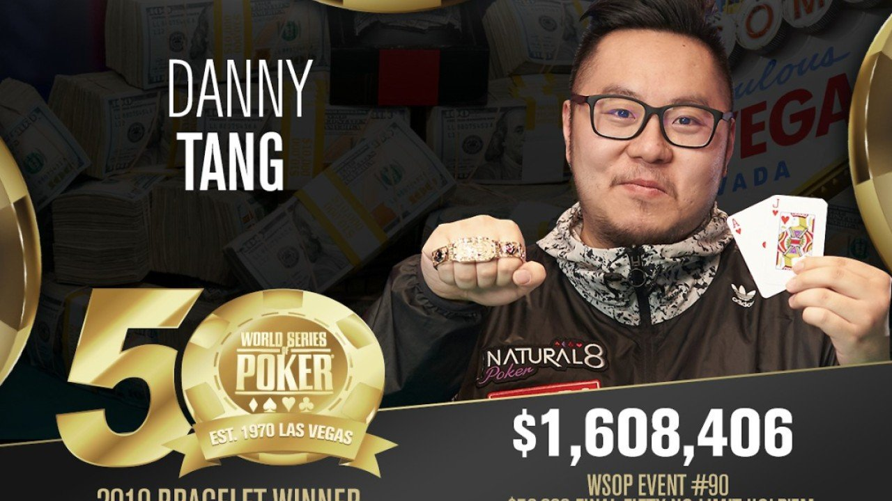 Hong Kong's Danny Tang wins staggering US$1.6 million in World Series of Poker event in Las Vegas
