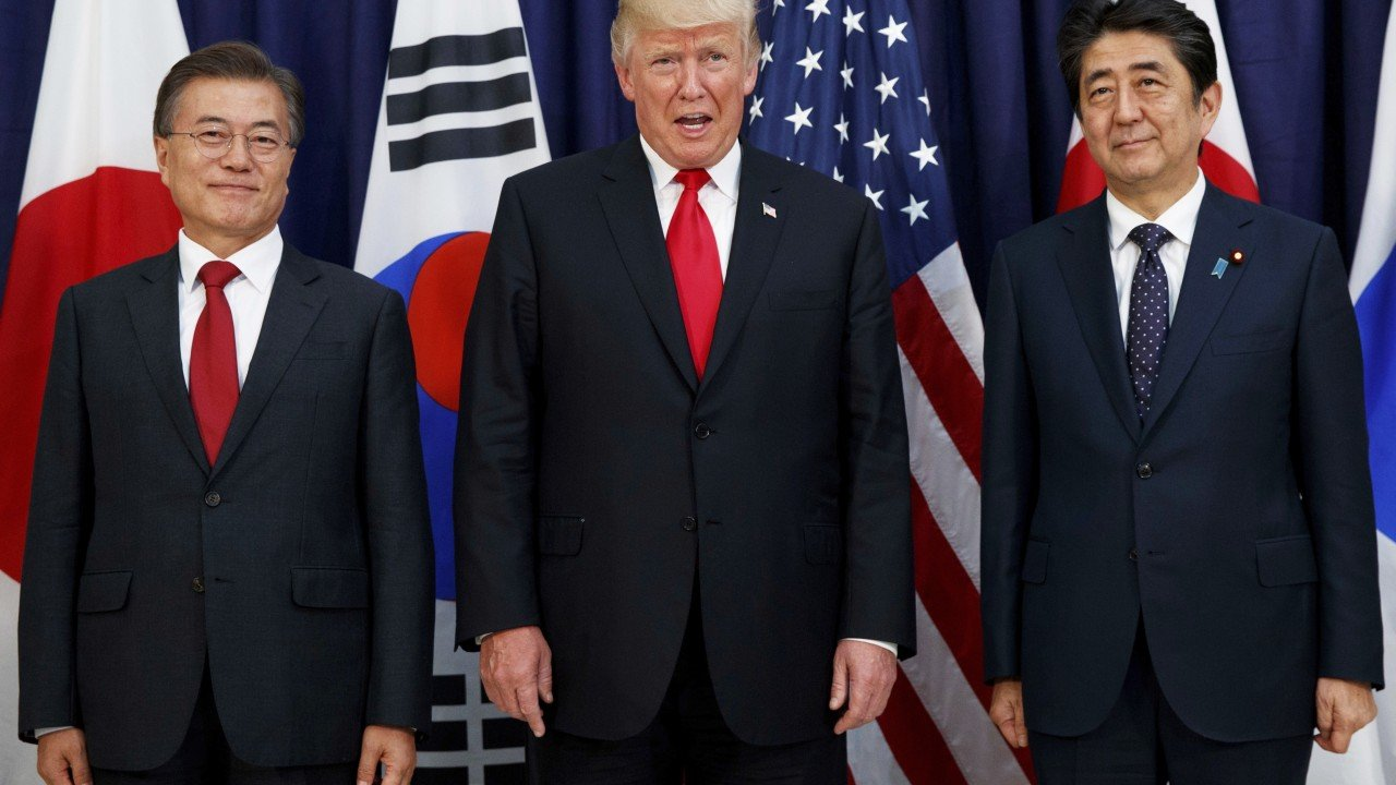 Donald Trump fakes accent to mock leaders of South Korea and Japan, angering Asian-American voters