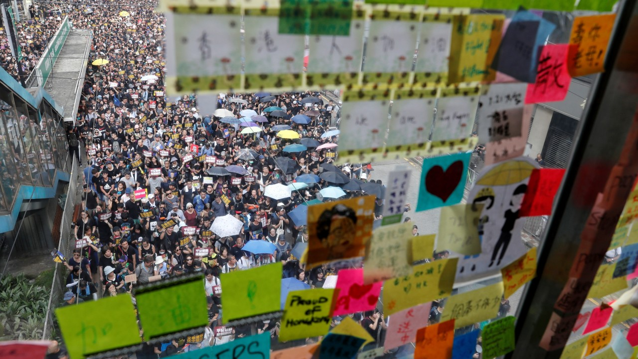 Hong Kong protests erupted out of the government's failure to address society's many 'colours'
