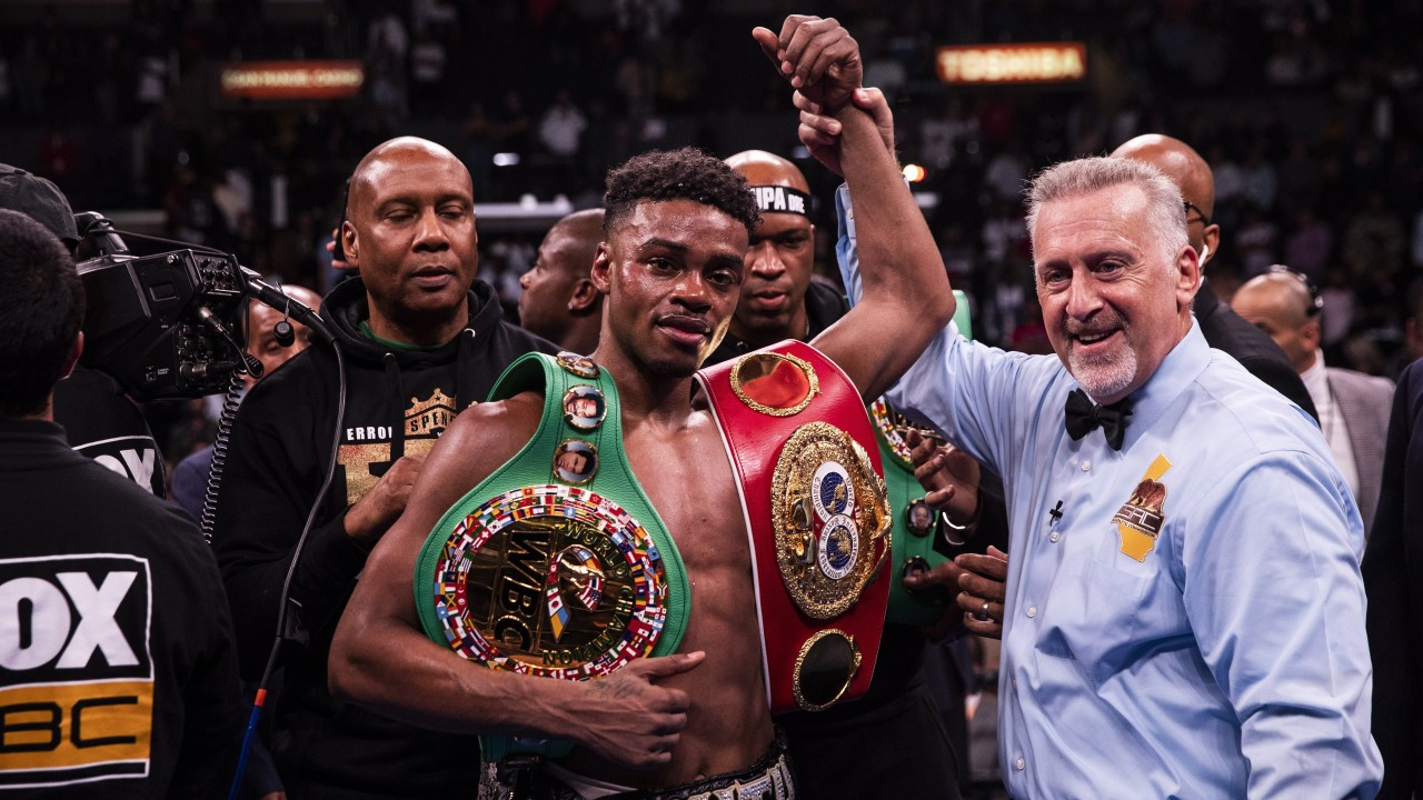 Errol Spence says he wants Manny Pacquiao next, but Pacman seems only interested in Floyd Mayweather