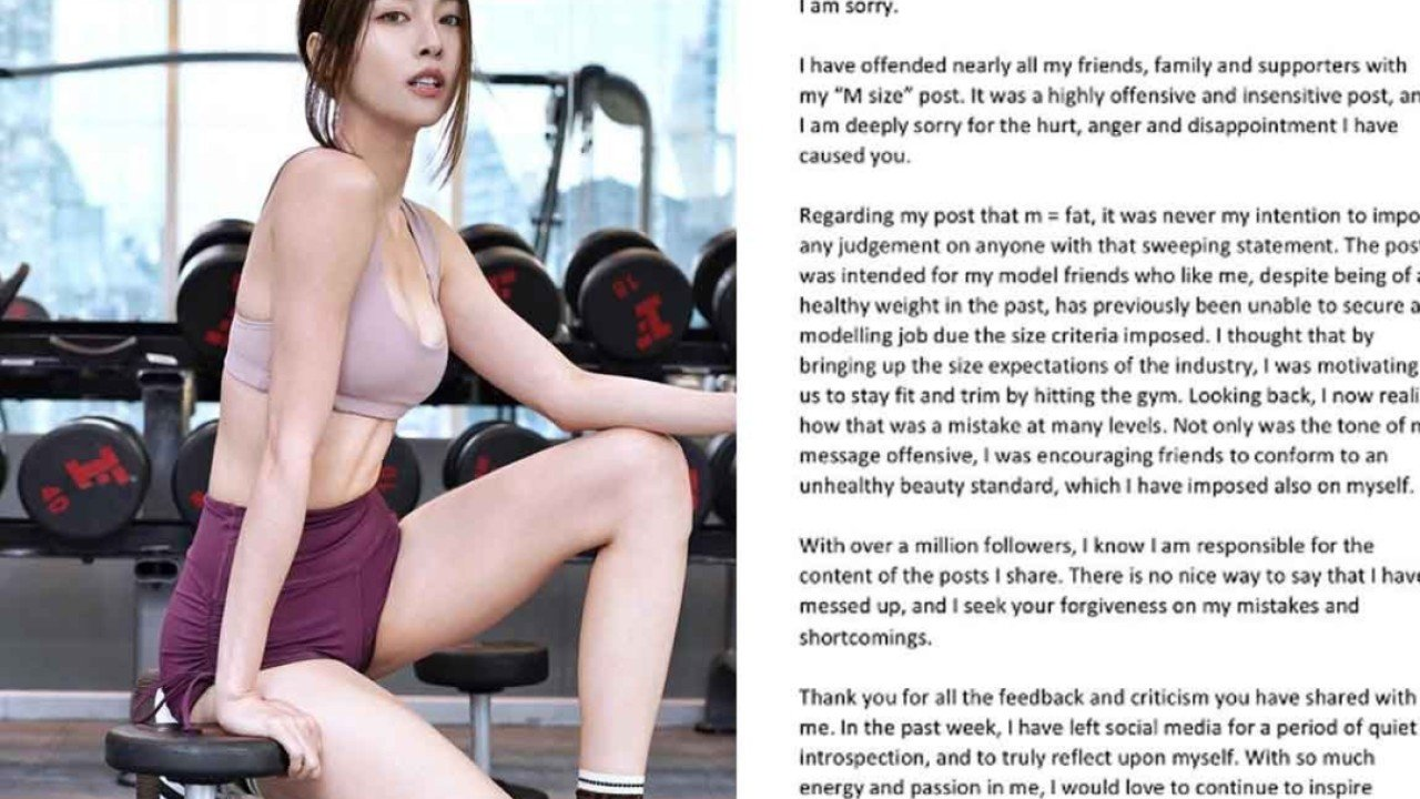 Will Malaysian model Cathryn Lee be forgiven for body-shaming Instagram post – which branded M-sized women 'fat'?