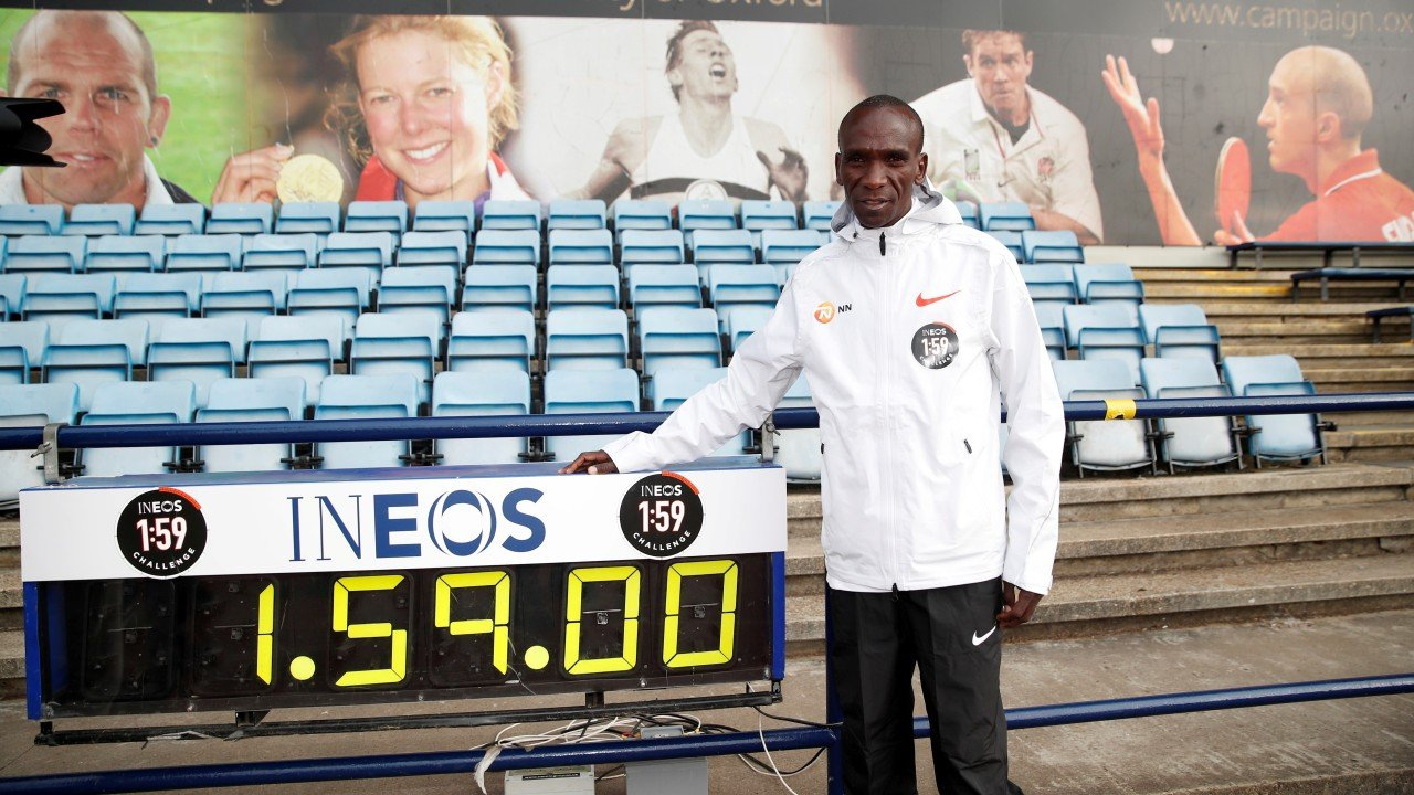 Watch Eliud Kipchoge's 1:59 marathon challenge live – can the world record holder break two hours?