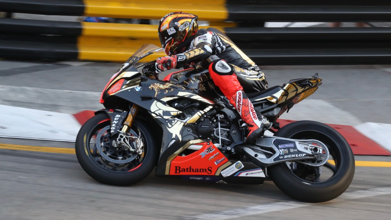 Macau Grand Prix: Peter Hickman takes Motorcycle GP pole as he looks for fourth Guia win in five years