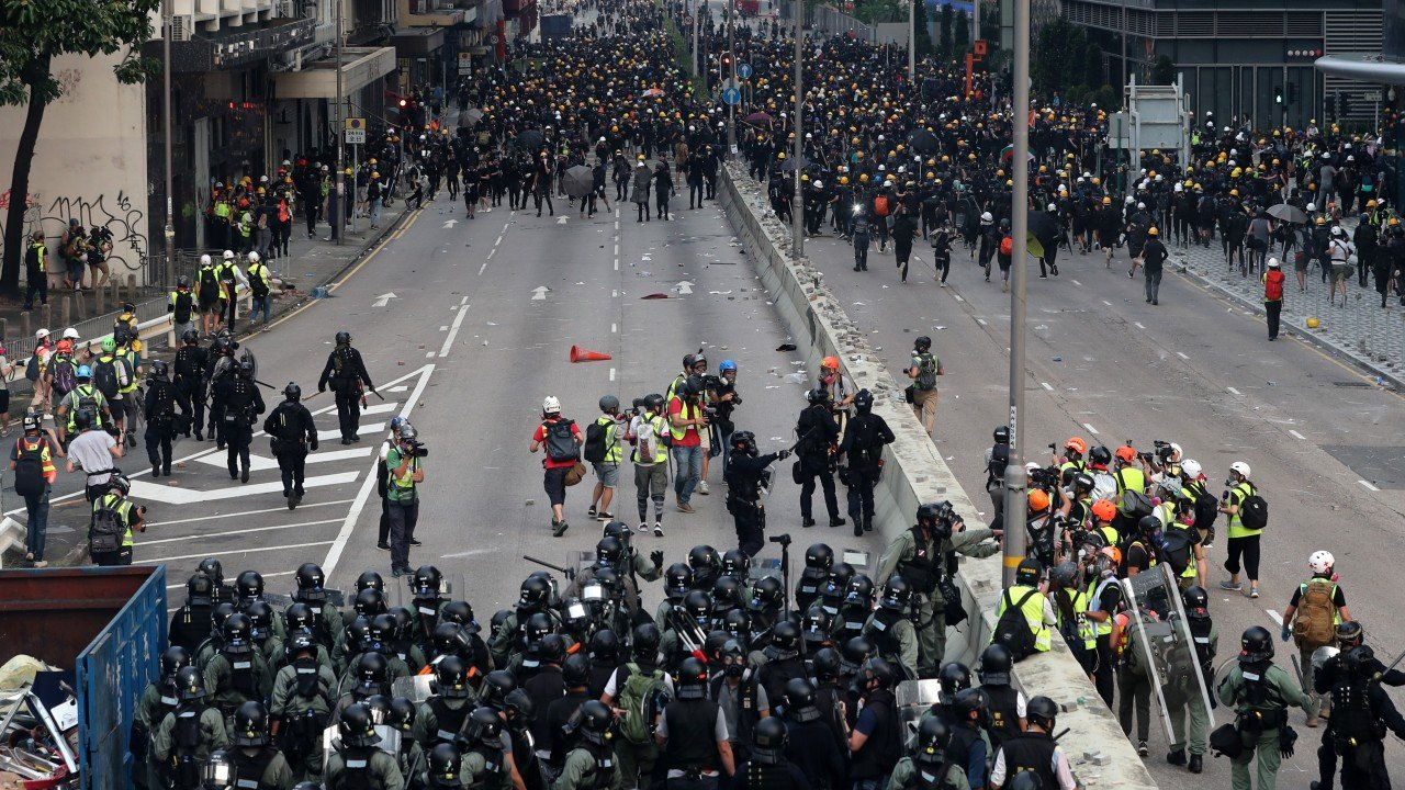 If this is the 'democracy' Hong Kong protesters want, maybe they deserve it