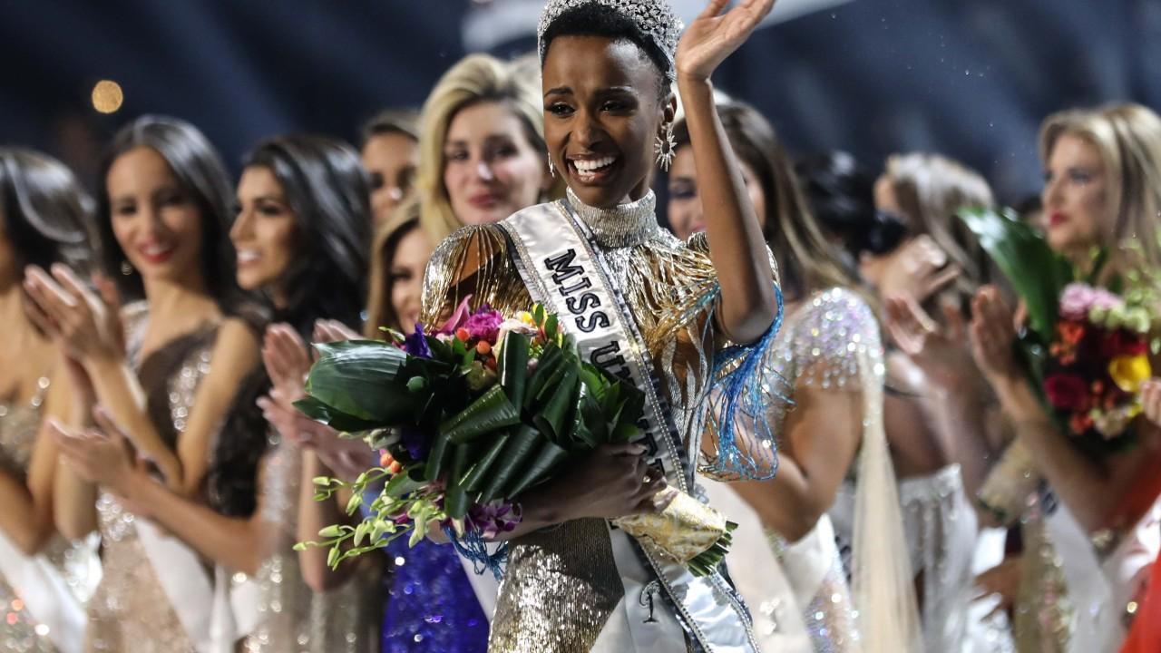 South Africa's Zozibini Tunzi crowned 2019 Miss Universe