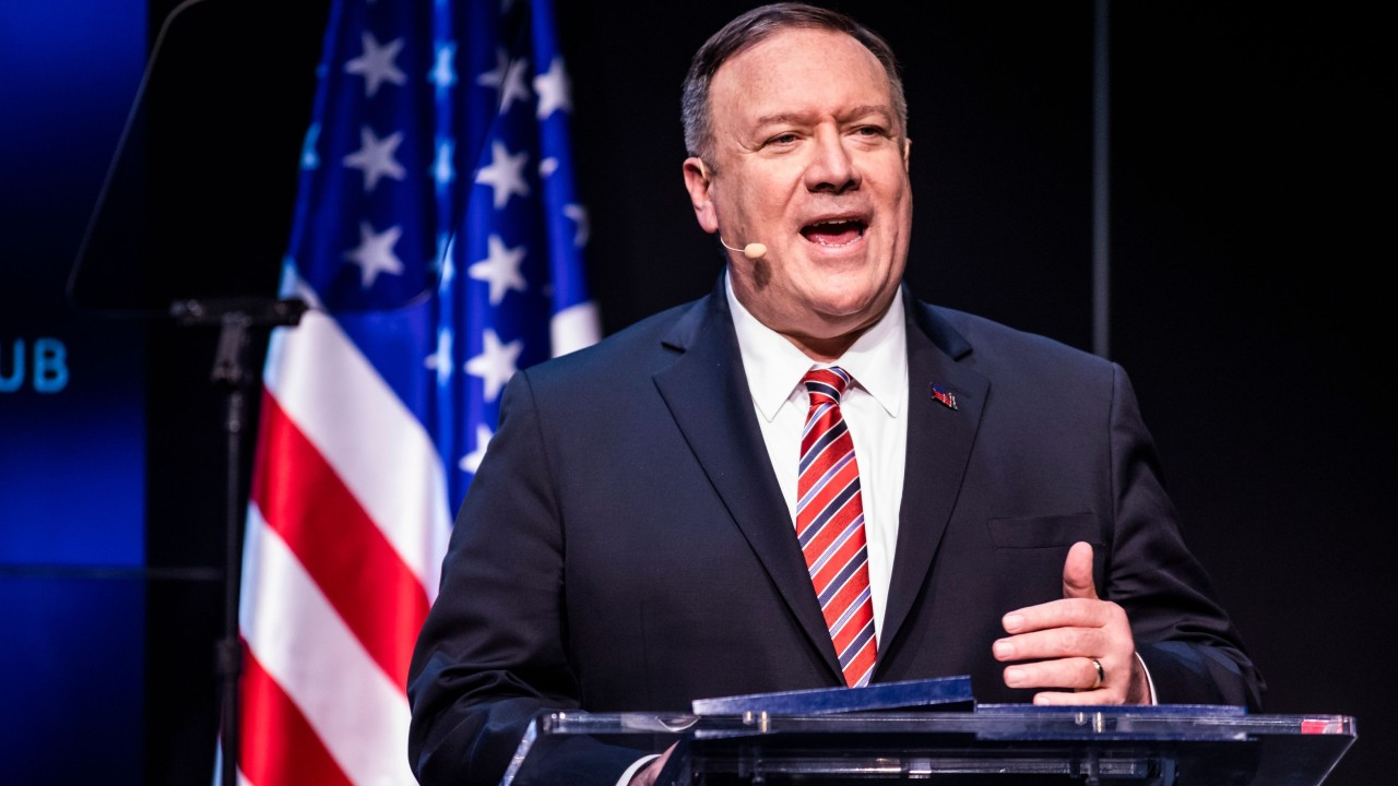 Coronavirus: US secretary of state accuses Iran's supreme leader of lying about outbreak