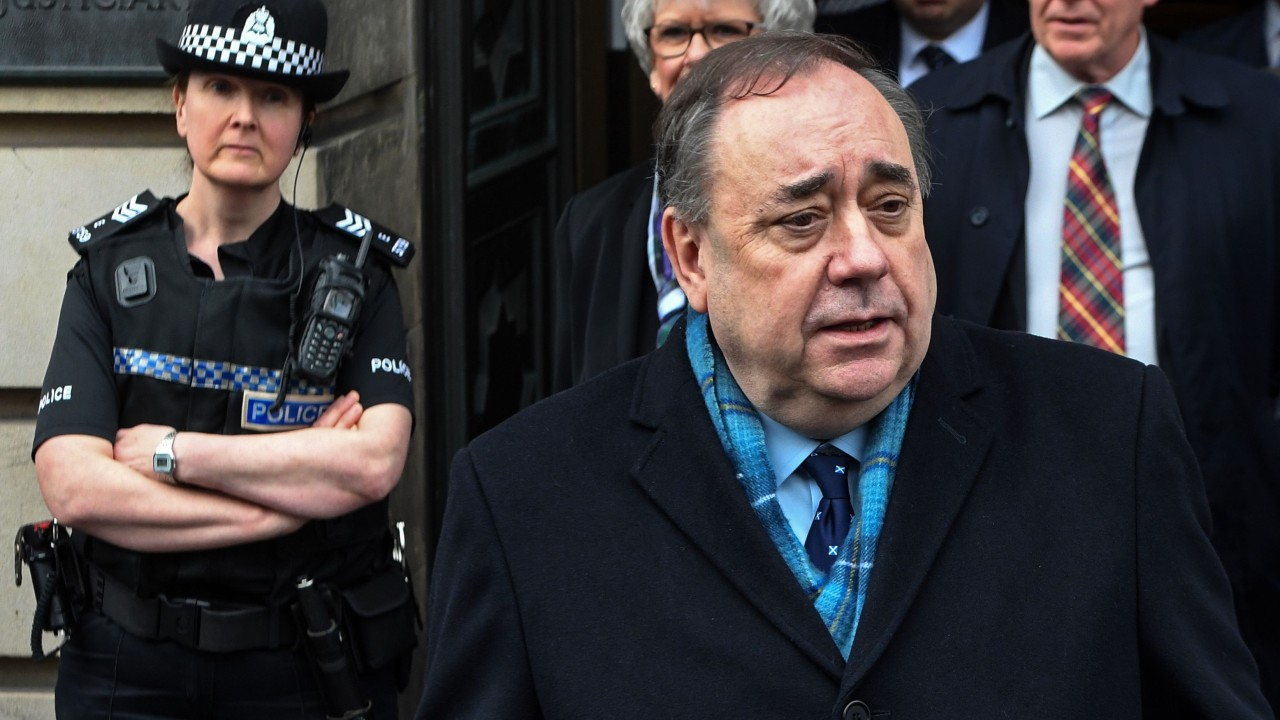 Alex Salmond, former Scottish first minister, cleared of sex charges