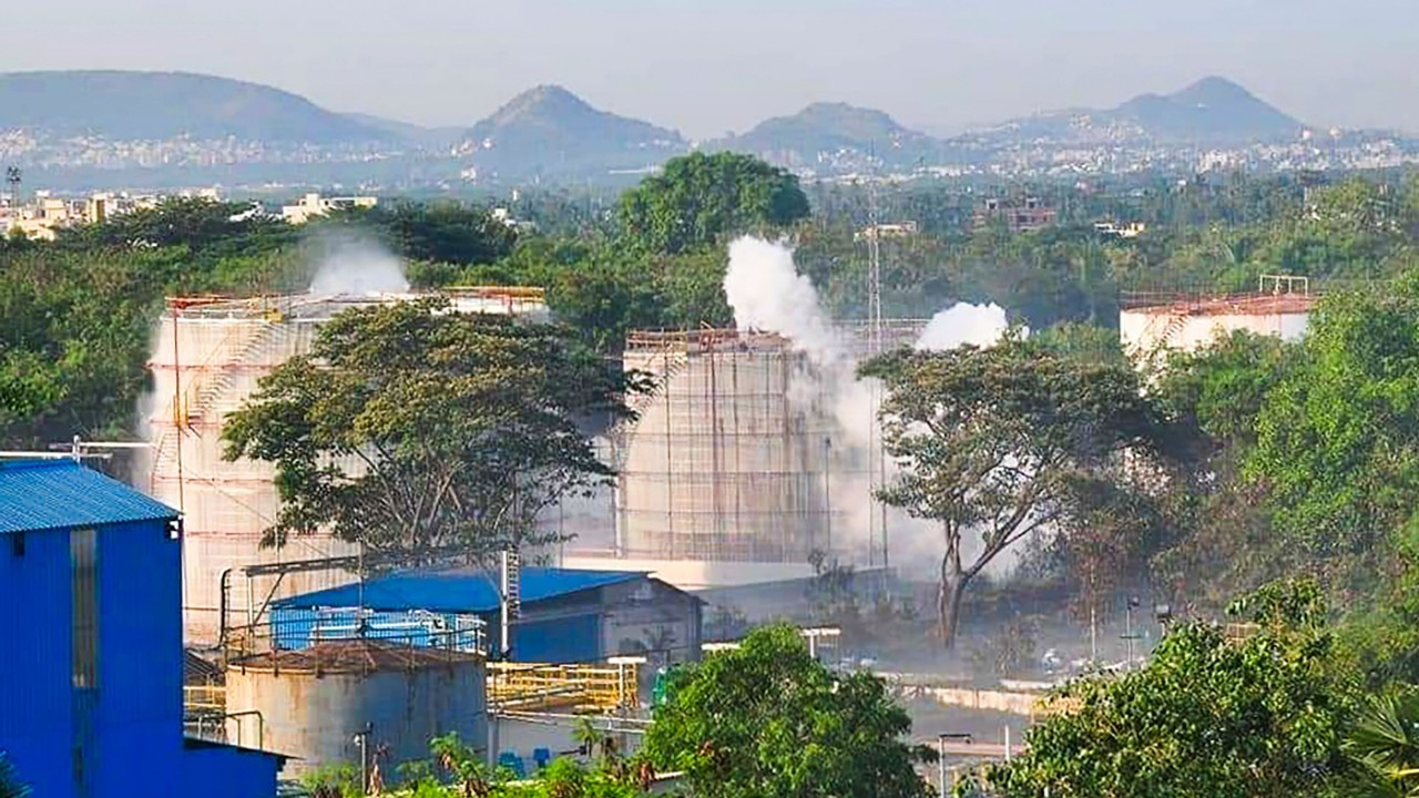 Deadly chemical gas leak at LG Polymers plant in India sees hundreds evacuated