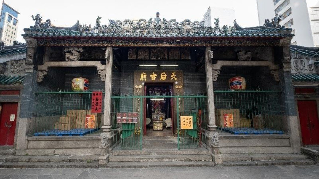 Three historic sites in Hong Kong, including Tin Hau temple in Yau Ma Tei, declared monuments