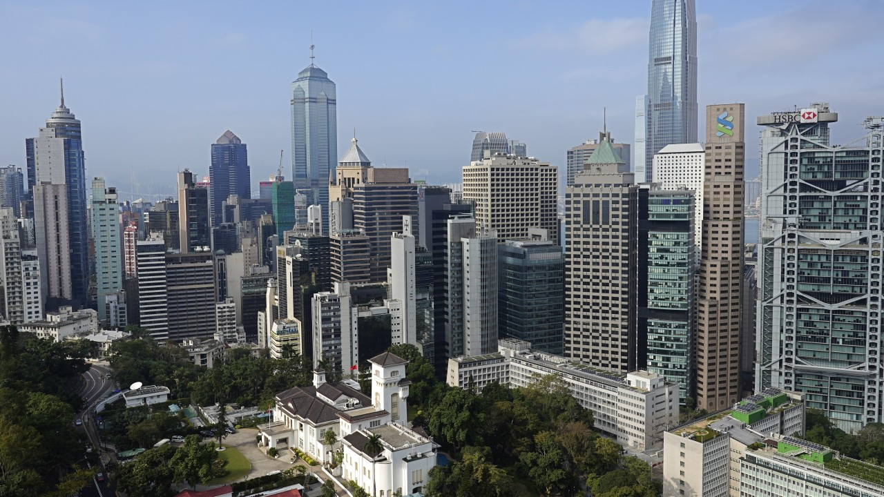 Exodus of US firms from Hong Kong to avoid sanctions imposed in wake of security law would hit office market already hurt by unrest, coronavirus