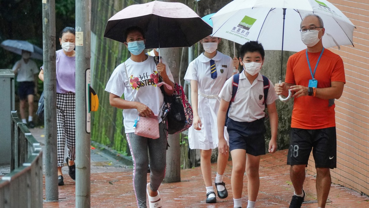 Hong Kong third wave: educator says students should walk to school when heading back to classrooms this week