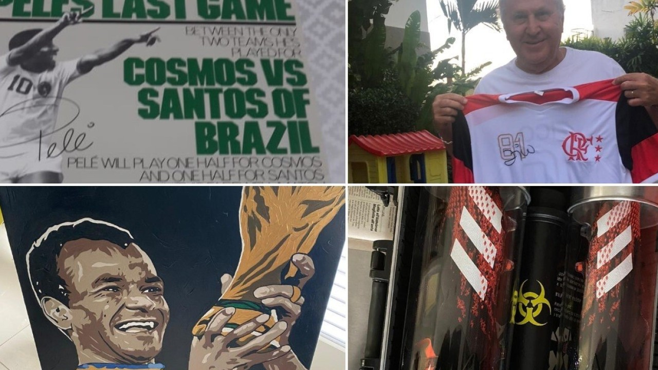 Ole No Corona: Cafu, Zico, Pele and other Brazil stars donate items to raise funds to help protect homeless against Covid-19