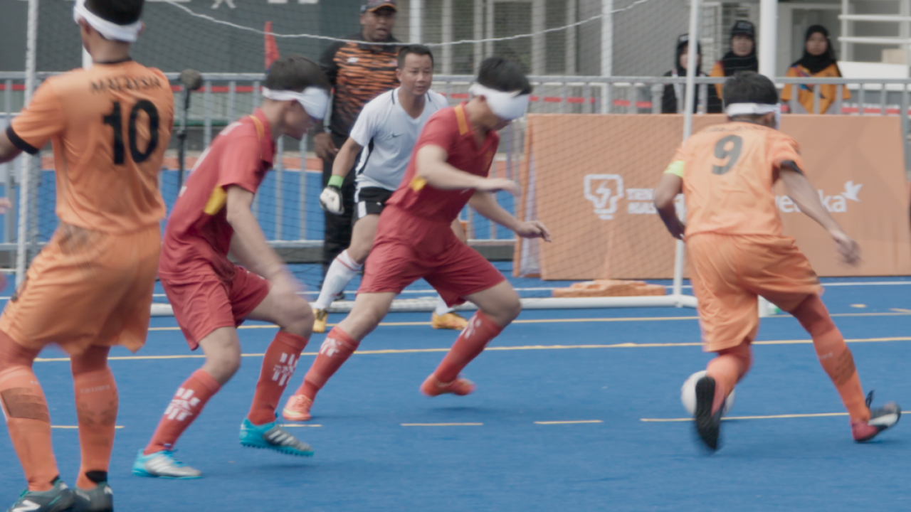Malaysian blind football documentary Eye on the Ball gives a glimpse into a severely marginalised world, says director