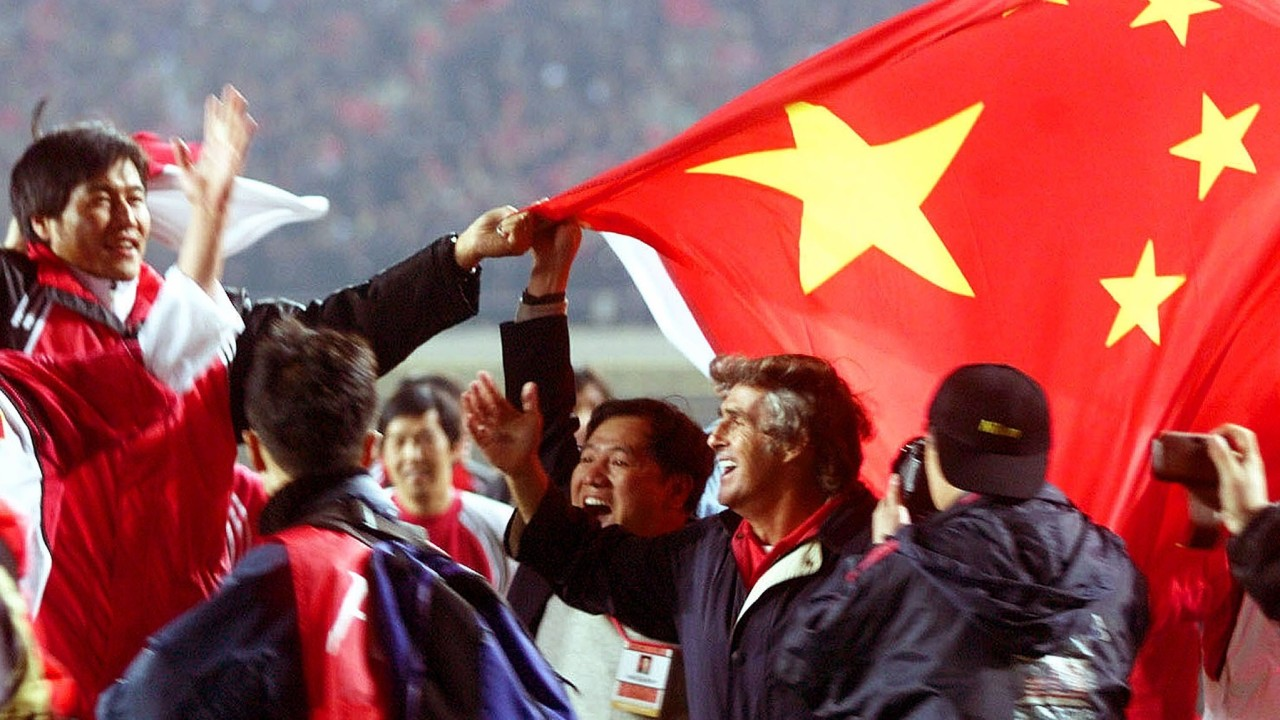 On this day: China qualified for its only Fifa World Cup