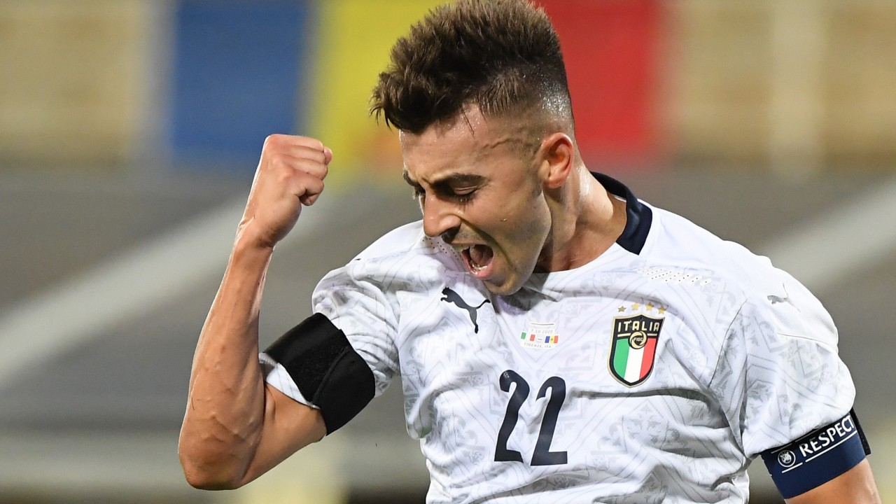 Shanghai Shenhua's Stephan El Shaarawy nets brace as he skippers Italy for the first time