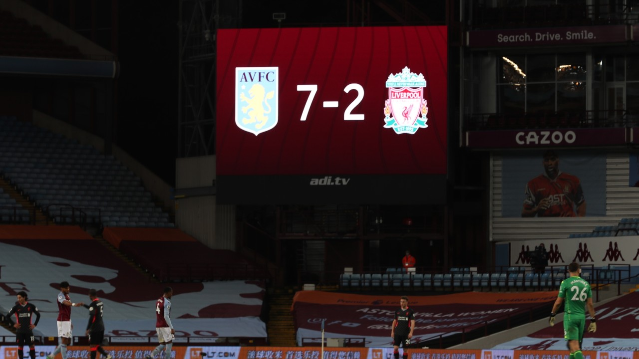 No panic at Liverpool after Villa rout – Reds have a history of recovering well from thrashings