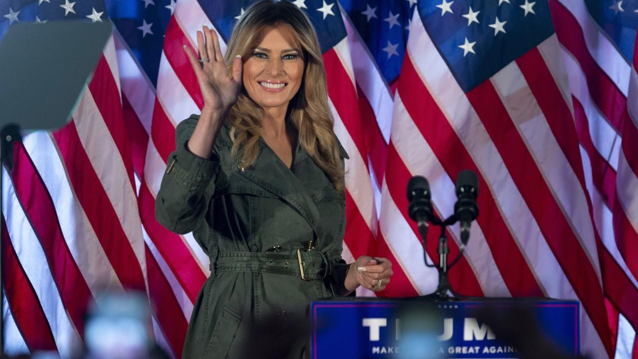 US election 2020: Melania Trump slams Joe Biden in first solo campaign stop