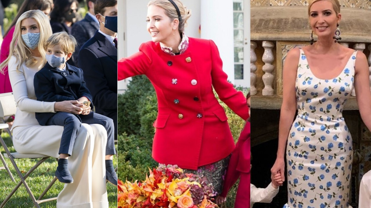 What's Donald Trump's daughter Ivanka wearing this holiday season? Here are 6 previous Thanksgiving and Christmas looks that might clue us in